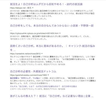 「自己分析 意味ない」の検索結果