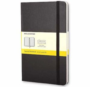 おすすめノート①:Moleskine Pocket Squared Notebook Classic