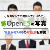 「OpenES」に載せる写真がない場合の対処法を解説します