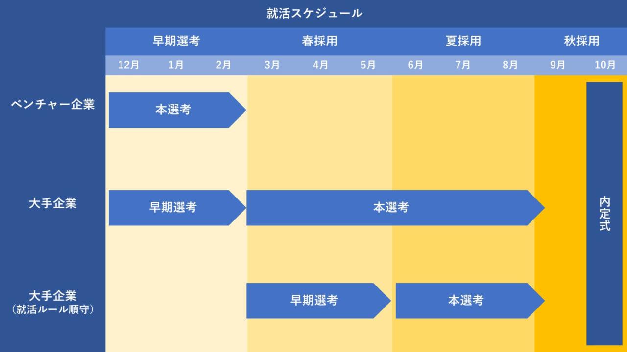 夏採用_スケジュール