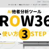 【他者分析ツール GROW360の使い方3STEP】対策や悪い評判,導入企業一覧も